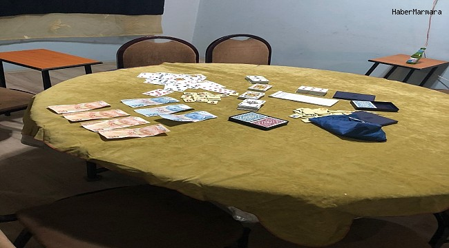 Kumar, fuhuş ve masaj salonu operasyonunda 70 kişiye cezai işlem uygulandı