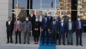 MHP heyetinden Van İl Emniyet Müdürü Aydın'a ziyaret