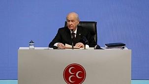 MHP Lideri Bahçeli Yeni Anayasa Teklifini Açıkladı