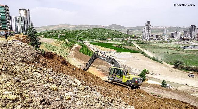 Nursultan Nazarbayev Parkı için hummalı çalışma
