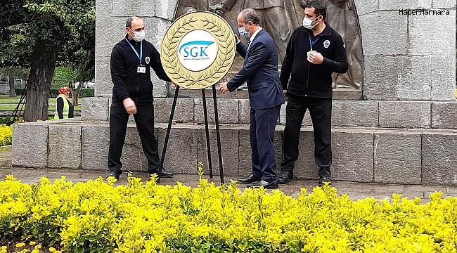 Samsun'da SGK Haftası kutlaması