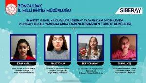 Siberay 23 Nisan Yarışmasında Türkiyenin gururu oldular