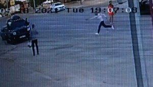 Tartıştığı kardeşini tabanca ile ayağından vurdu, o anlar kameraya yansıdı