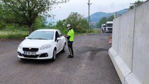 Trafik Haftası kapsamında sürücülere uyarılarda bulunuldu