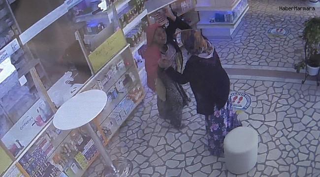 Yaşlı kadın hırsızı böyle avladı