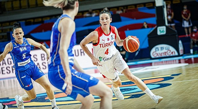 2021 FIBA Avrupa Şampiyonası: Türkiye: 54 - Bosna Hersek: 64
