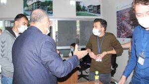 Afyonkarahisar'da Kentsel Dönüşüm Ofisi'nde arbede