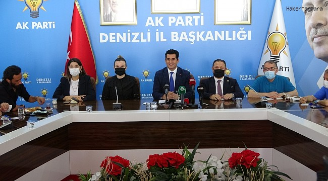 """AK Parti İl Başkanı Güngör; """"İnsan odaklı partiyiz"""""""
