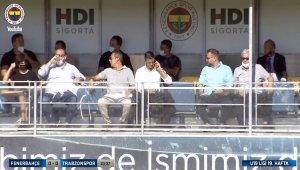Ali Koç, Sırp menajer ile birlikte maçı takip ediyor