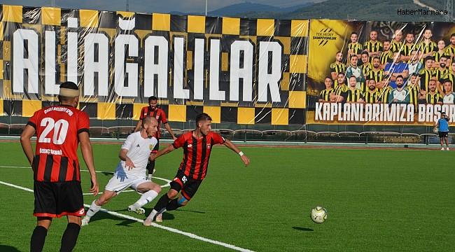 Aliağaspor FK, fırtına gibi