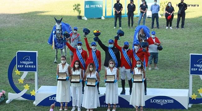 Atina Longines EEF Milletler Kupası'nda zafer Türkiye'nin
