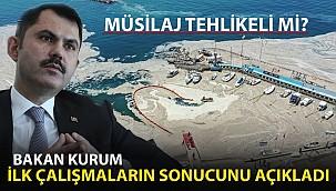 Bakan Kurum İlk Çalışmaların Sonuçlarını Açıkladı!