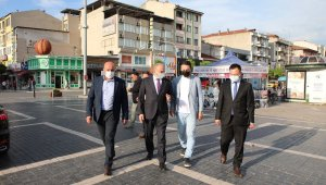 Başkan Özlü Cedidiye Projesi için sahada