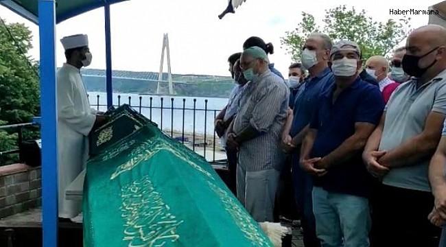 Beykoz'da gemi kazasında ölen balıkçılar son yolculuğuna uğurlandı