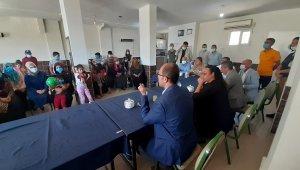 Bismil Kaymakamı Türkmen'e, Köseli Mahalle ziyaretinde büyük ilgi