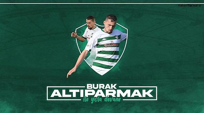 Bursaspor Kulübü, Burak Altıparmak'la yola devam kararı aldı