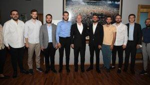 BURSİAD, Bursaspor Kulübü'nü ziyaret etti