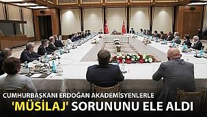 Cumhurbaşkanı Erdoğan Akademisyenlerle 'Müsilaj' Sorununu Ele Aldı