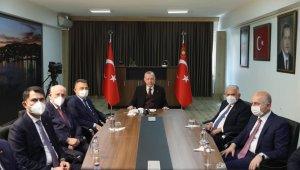 """Cumhurbaşkanı Erdoğan: """"Bu sene gerçekleştirdiğimiz tüm tatbikatlar dosta güven hasımlara korku verdi"""""""