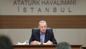 """Cumhurbaşkanı Erdoğan: """"Hastaneye yapılan terör saldırısı PKK YPG'nin nasıl kalleş ve vahşi bir örgüt olduğunu göstermiştir"""""""