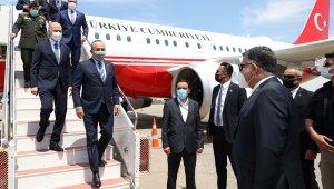 Dışişleri Bakanı Çavuşoğlu, Libyalı mevkidaşı Manguş ile görüştü