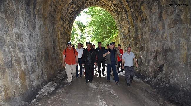 Doğanın içinde yürüyüş parkuru turizme kazandırılacak