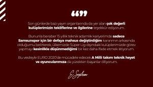 """Ertuğrul Sağlam: """"Süper Lig dışındaki kulüplerde görev yapmayı düşünmüyorum"""""""