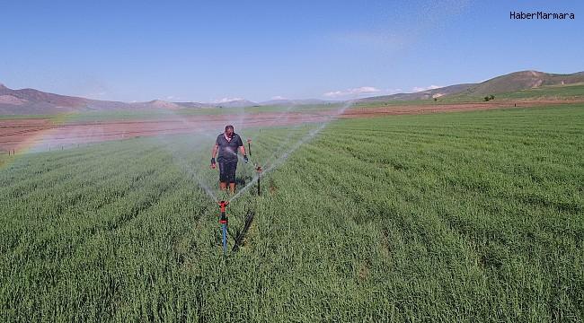 Erzincan'da sulama sezonu başladı
