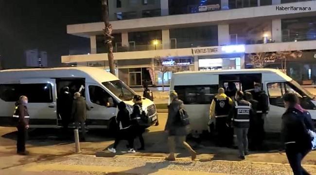 Fuhuş operasyonunda 14 kişiye 12 bin TL idari para cezası