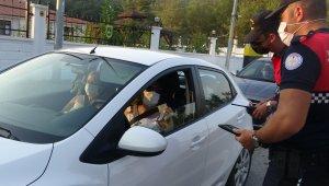 Hafta sonu tatilcileri Marmaris giriş noktasında uzun kuyruklar oluşturdu