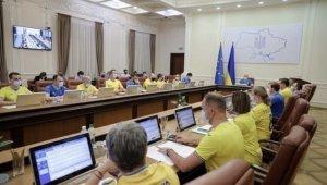 """İlk kez çeyrek finale çıkan Ukrayna Milli Takımına, kabineden """"formalı"""" destek"""