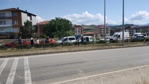Karabük'te 4 araçlı zincirleme kaza: 2 yaralı