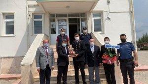 Kaymakam Tortop, Jandarma Teşkilatı'nın 182'inci kuruluşunu kutladı