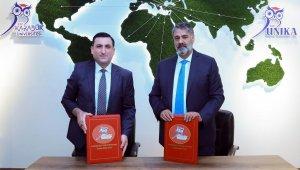 KBÜ'ye Azerbaycan Devlet Petrol ve Sanayi Üniversitesi'nden ziyaret