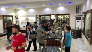 Mardin'de gümüşe yoğun ilgi