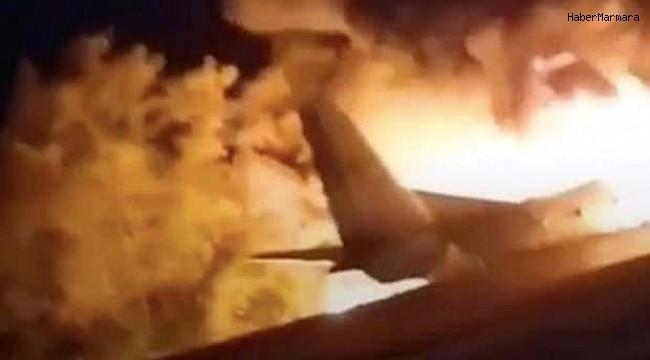 Myanmar'da Askeri Uçak Düştü Çok Sayıda Ölü Var