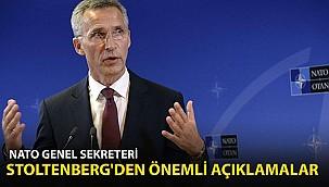 NATO Genel Sekreteri Stoltenberg'den Önemli Açıklamalar