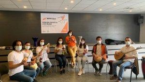 Nilüfer'in Sebze Orkestrası uluslararası etkinlikte performans sergiledi