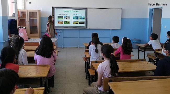 Öğrencilere yönelik 'Biyolojik çeşitlilik' eğitimi devam ediyor
