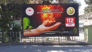 Orman yangın ihbar hattı 112 oldu