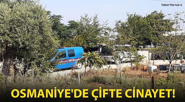 Osmaniye'de Çifte Cinayet!