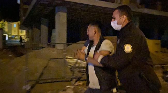 Polise yakalanan hırsız 'ben yapmadım' diyerek ağladı