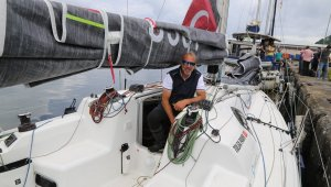 Rekor denemesi için yelkeniyle hiç durmadan dört denizi aşacak