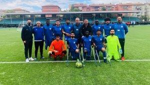 Şahinbey Ampute ilk maçında Bursa'ya 8 fark attı