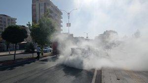 Siirt'te maddi hasarlı trafik kazası
