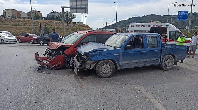 Söke'de zincirleme trafik kazası: 6 yaralı