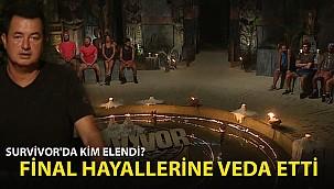 Survivor'da Kim Elendi? Final Hayallerine Veda Etti!