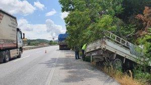 Susurluk'ta trafik kazası; 1 yaralı