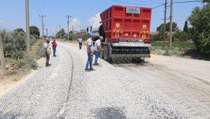 Turgutlu Belediyesinden asfalt mesaisi