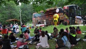 Yaylada yazar-okul etkinliği